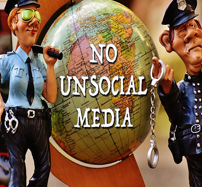 No unsocial media - David J Abbott M.D.